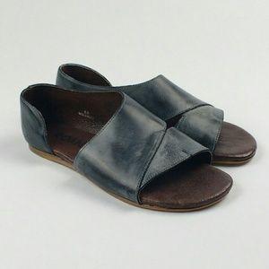 Roan Irie Asymmetrical Flat Gray sz 8.5